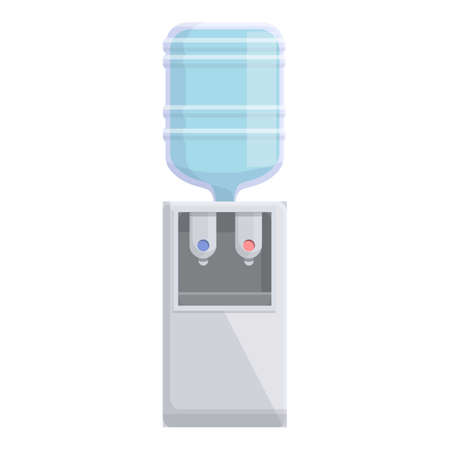 Office water equipment icon. Cartoon of Office water equipment vector icon for web design isolated on white background
