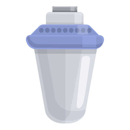 Modern water filter icon. Cartoon of Modern water filter vector icon for web design isolated on white background Ilustração