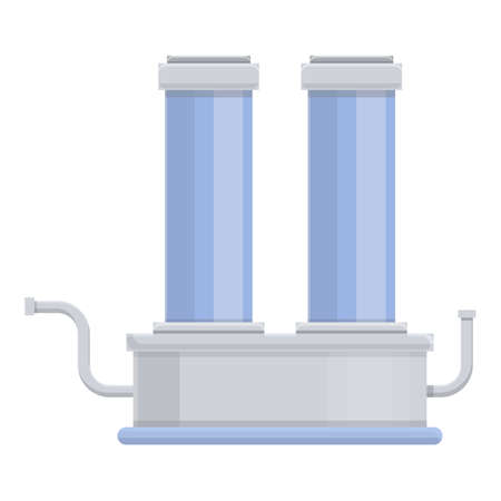 Water purification system icon. Cartoon of Water purification system vector icon for web design isolated on white background