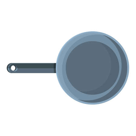 Hiking frying pan icon. Cartoon of Hiking frying pan vector icon for web design isolated on white background