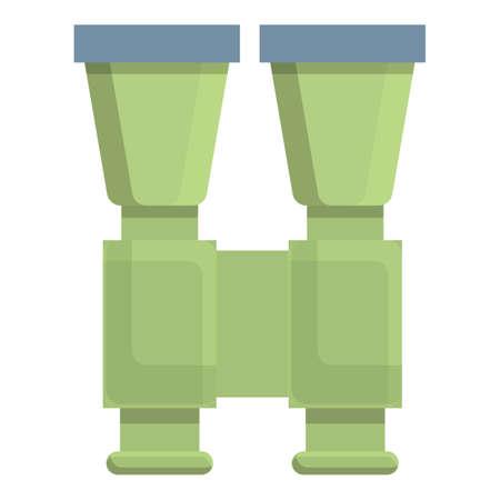 Hiking binocular icon. Cartoon of Hiking binocular vector icon for web design isolated on white background