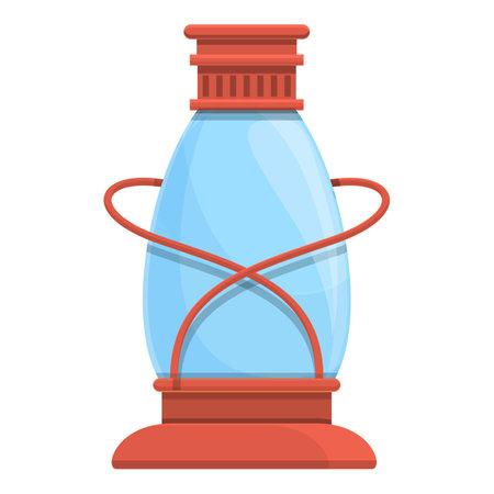 Kerosene candle icon. Cartoon and flat of Kerosene candle vector icon for web design isolated on white background