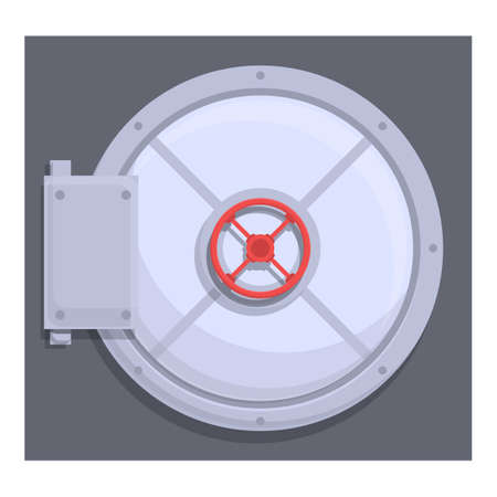 Deposit room protection icon. Cartoon of Deposit room protection vector icon for web design isolated on white background