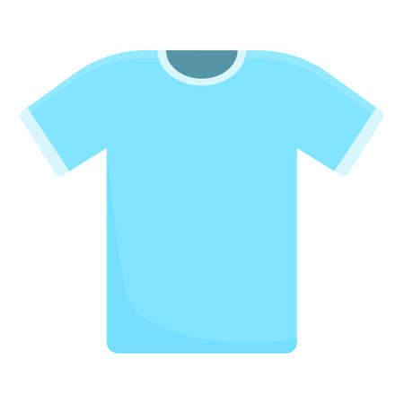 Sewing tshirt icon. Cartoon of Sewing tshirt vector icon for web design isolated on white background 矢量图像