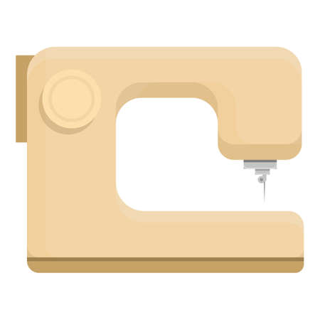 Sewing machine icon. Cartoon of Sewing machine vector icon for web design isolated on white background
