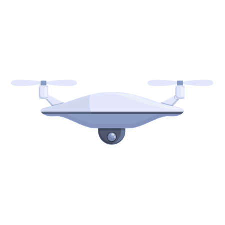 Drone technology survey icon. Cartoon of Drone technology survey vector icon for web design isolated on white background