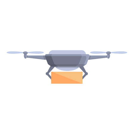 Drone technology equipment icon. Cartoon of Drone technology equipment vector icon for web design isolated on white background