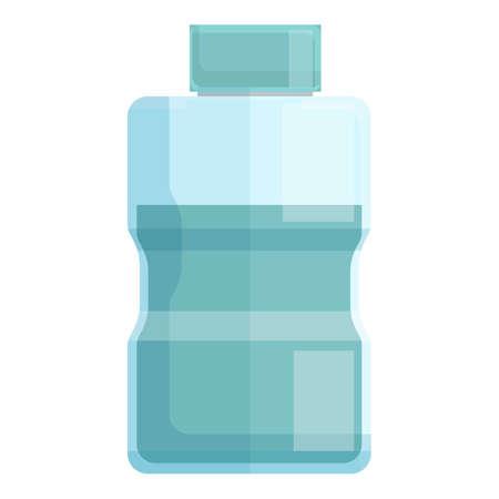 Liquid bottle teeth whitening icon. Cartoon of Liquid bottle teeth whitening vector icon for web design isolated on white background Ilustración de vector