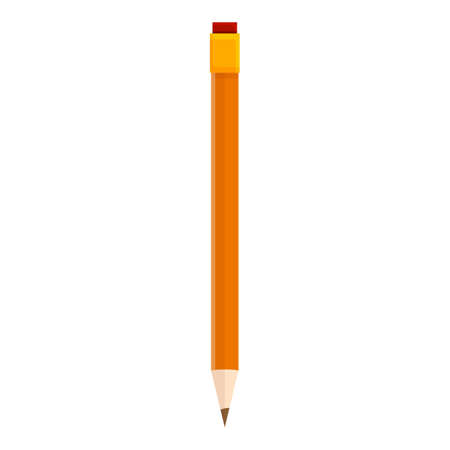 Pencil icon. Cartoon of Pencil vector icon for web design isolated on white background