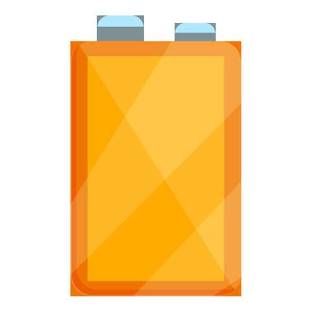 Camping kerosene flask icon. Cartoon of Camping kerosene flask vector icon for web design isolated on white background Vettoriali