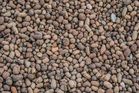 expanded: Expanded clay aggregate.
