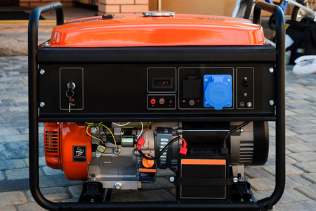 portable: Panel portable electric generator