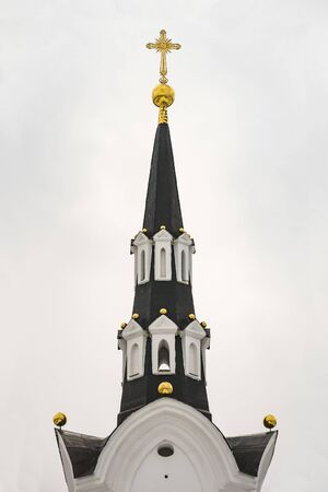 christian trust: Gothic style. Russian Gothic. Russian Neo-Gothic architecture of the 18th century reign of Catherine 2.