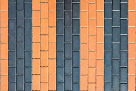 boldness: Pavement in the form of St. George ribbon. Background with tiled.