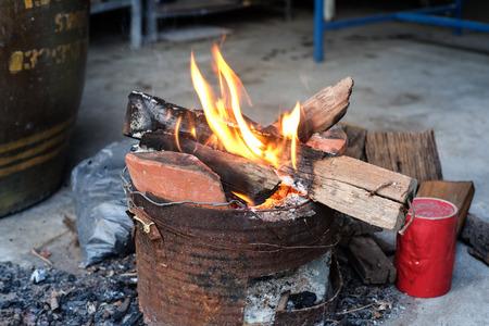 stove: the stove