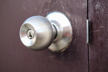 deur knop Stockfoto