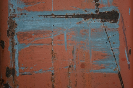 scraped: Orange and Brown Scraped Metal Texture Seamless Background Stock Photo