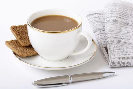 Business breakfast photo