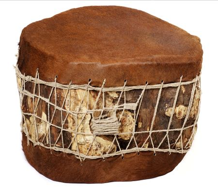 chant: Huge base drum Stock Photo