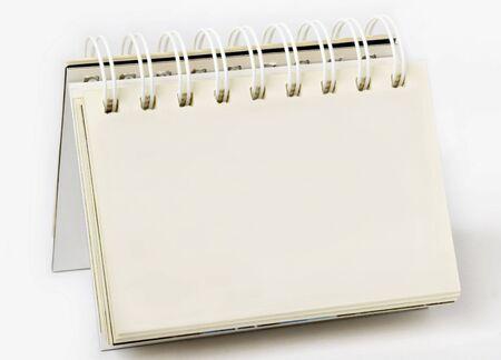 docket: Desk calendar