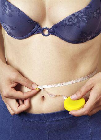 fatten: Measurement Stock Photo