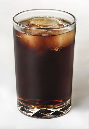 thirst quenching: cola stylish Stock Photo