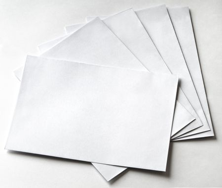 sender: Group of envelopes