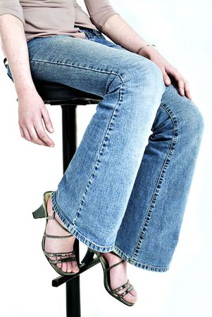 barstool: Legs on stool