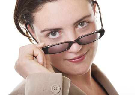 Businesswoman closeup Stock Photo - 292895