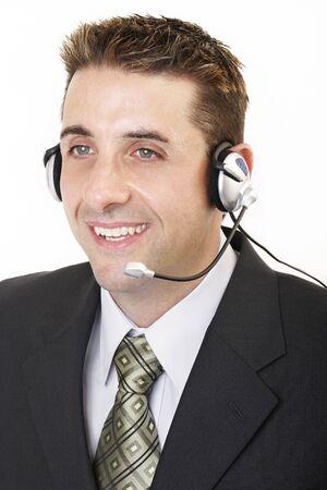 marketeer: Male customer service 2 Stock Photo