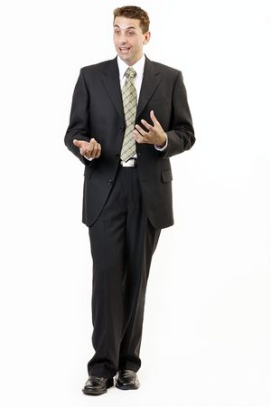 straight man: Businessman portrait 5 Stock Photo
