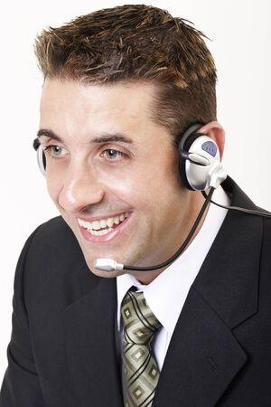 marketeer: Male customer service 1 Stock Photo