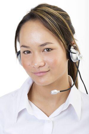 marketeer: Sreyna white top, customer service 5