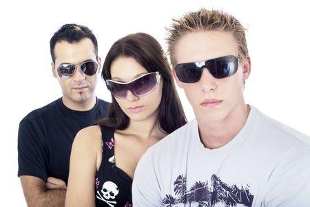 trio: Awesome tr�o 5, cerca  Foto de archivo