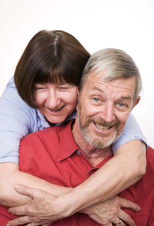 Senior couple 2, happy photo
