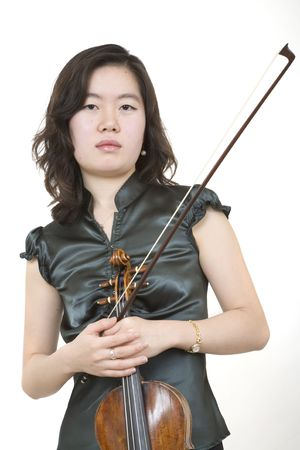 Violinist 1, standing Stock Photo - 469389