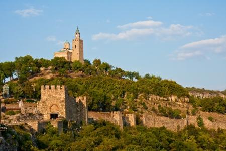 veliko: Tsarevets fort in Veliko Turnovo, Bulgaria