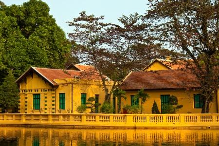 Ho Chi Minh's residence from 1954 till 1958 in Hanoi, Vietnam. Stock Photo - 13627745