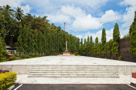 The independence fighters Memorial at Port Blair Cellular Jail, Andaman and Nicobar Islands, India  Stock Photo - 13761110