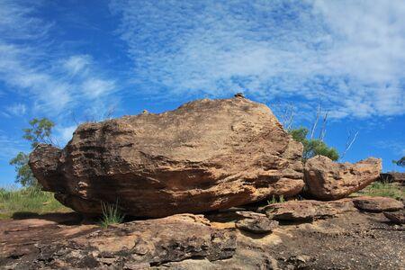 Rocky Australian Landscape photo