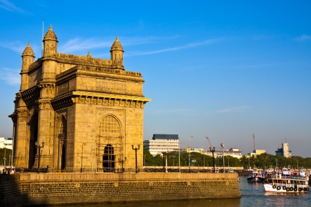 Gateway of India at sunset in Mumbai