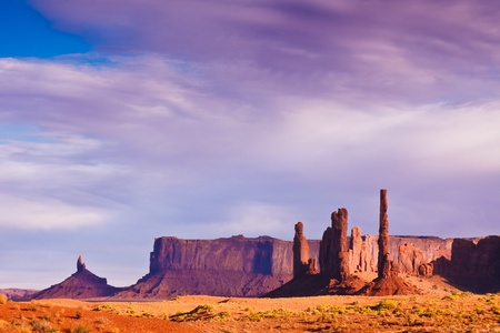 tribal park: Late afternoon in the Monument Valley Tribal Park desert
