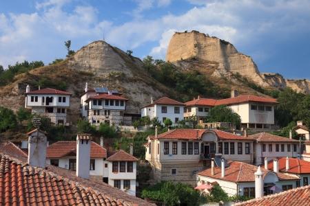 View of beautiful Melnik, Bulgaria. photo
