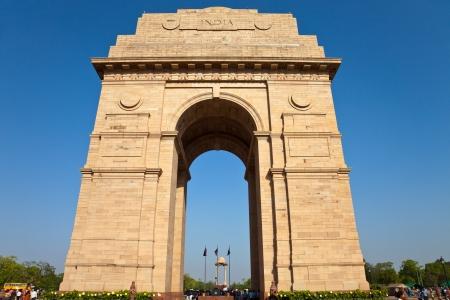 インド門ニューデリー、インドの戦争記念館。 写真素材