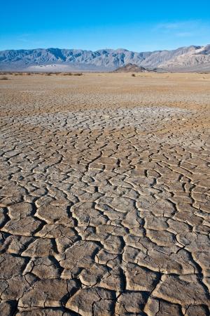 Tierra seca en Valle de la Muerte
