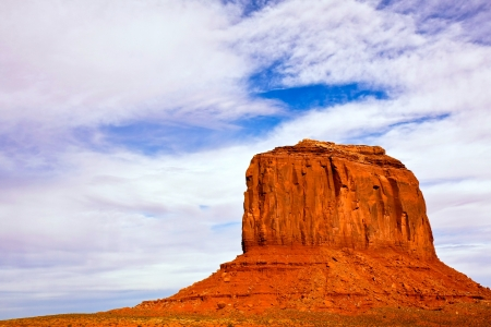 Merrick butte in Monument Valley Tribal Park, Arizona.