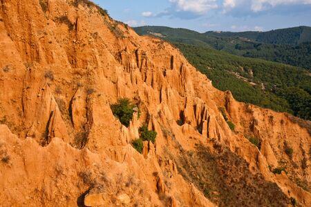 bulgaria: Stob Pyramids rock formations in Rila mountains, Bulgaria. Stock Photo