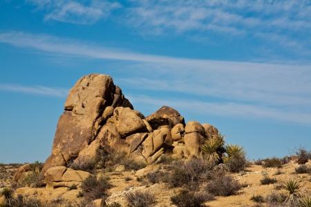 joshua: Rock pile in Joshua Tree National Park, California.
