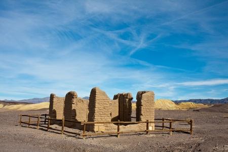 borax: Death Valley Borax Mine Site