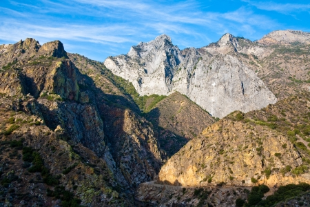 kings canyon national park: Kings Canyon National Park, California. Stock Photo